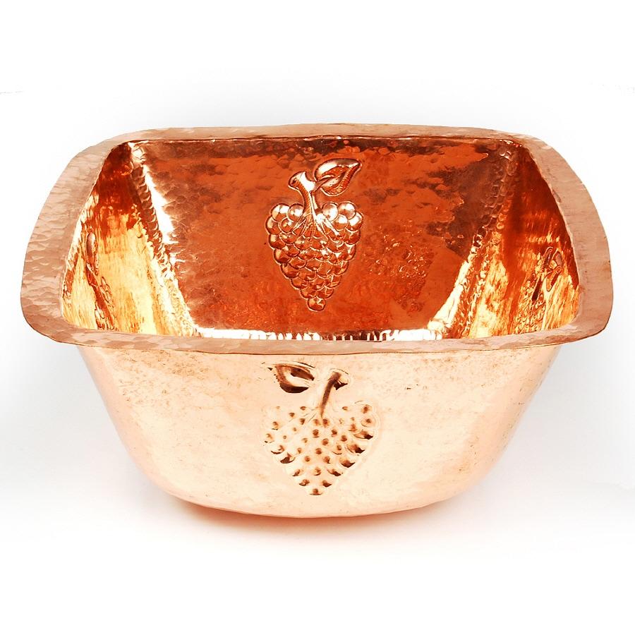 D'Vontz Copper Copper Undermount Sink