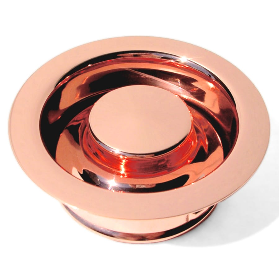D'Vontz 3.5-in Shiny Copper Garbage Disposal Sink Flange