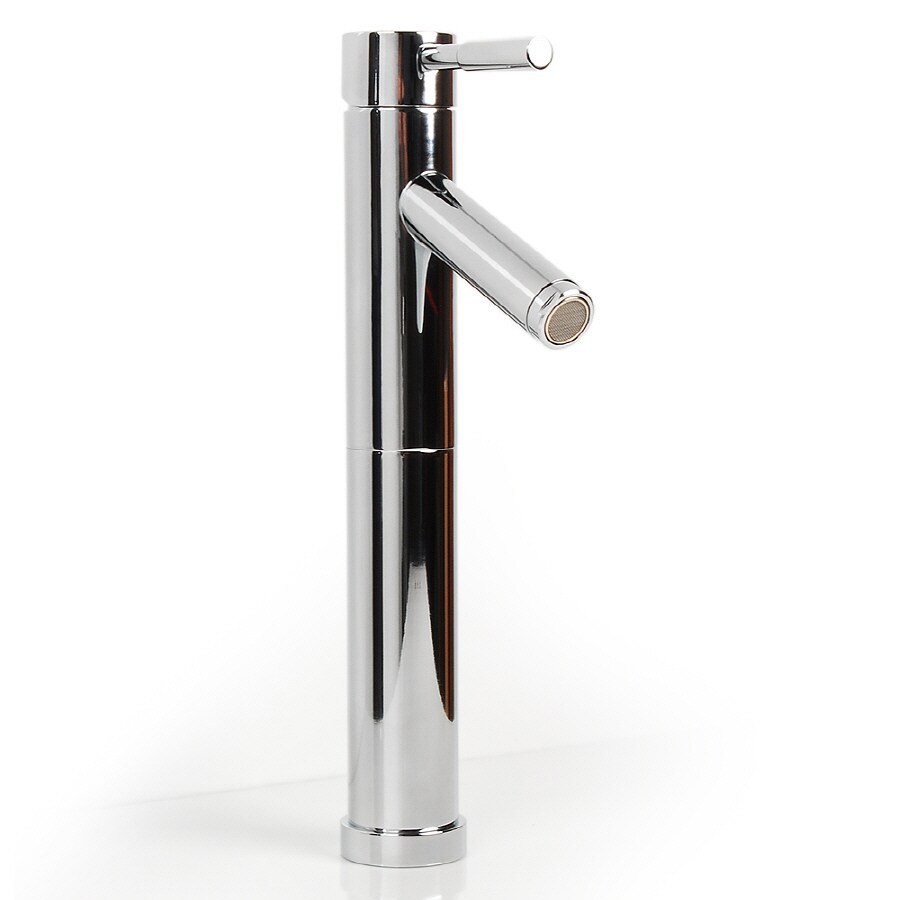 D'Vontz Echo Polished Chrome 1-Handle Single Hole Bathroom Faucet