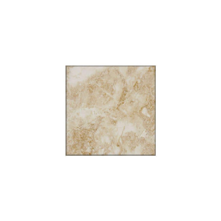 HTO 5-Pack 12-in x 12-in Crema Beige Floor Tile