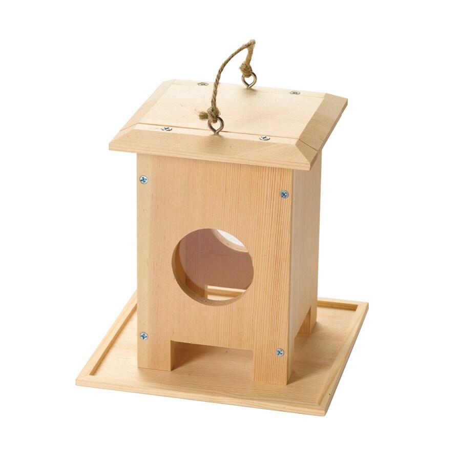Red Toolbox Hanging Bird Feeder