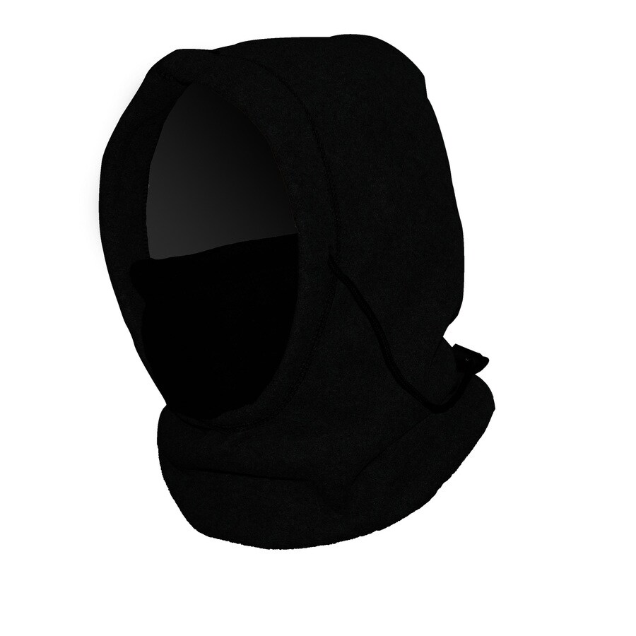 One Size Fits Most Unisex PolarEx Black Fleece Knit Hat