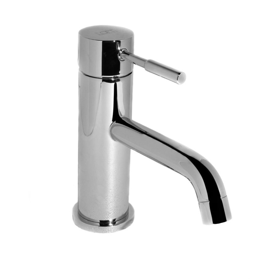 single hole bathroom sink faucet shop loft loft chrome 1 handle single bathroom sink 24116