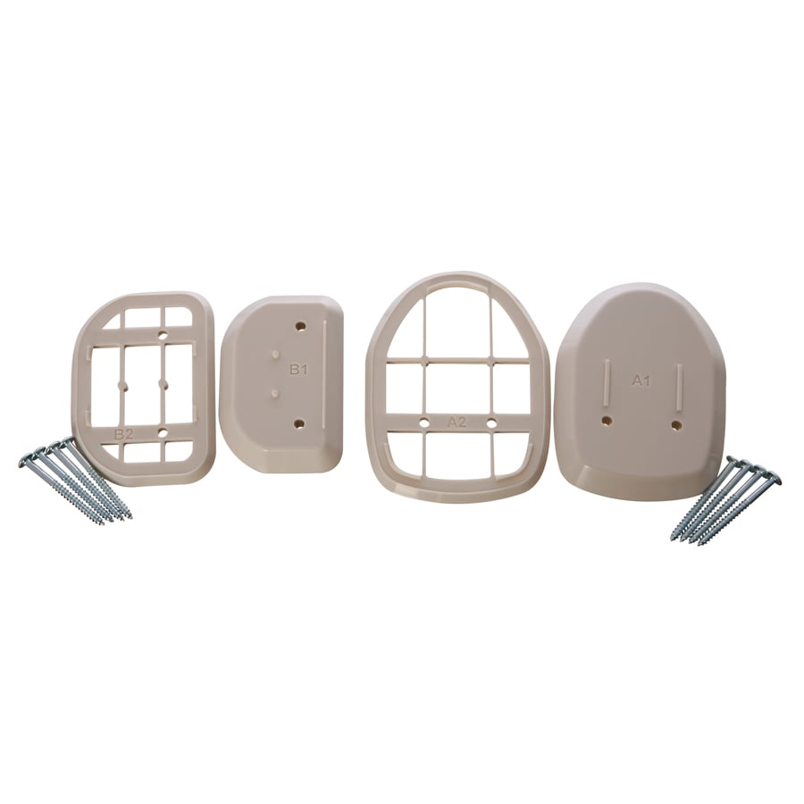Dreambaby Retractable White Plastic Child Safety Gate