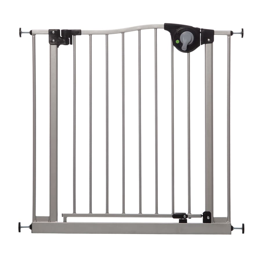 Dreambaby 32.5-in x 29.5-in Silver Metal Child Safety Gate