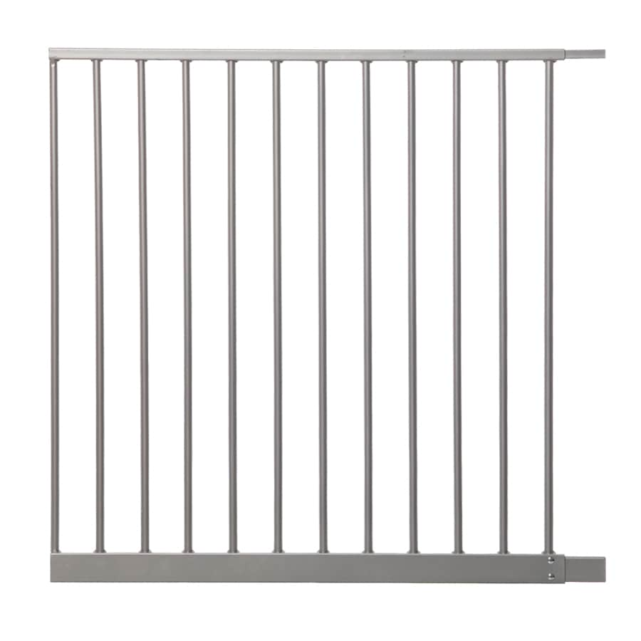Dreambaby 27.5-in x 29.5-in Silver Metal Child Safety Gate