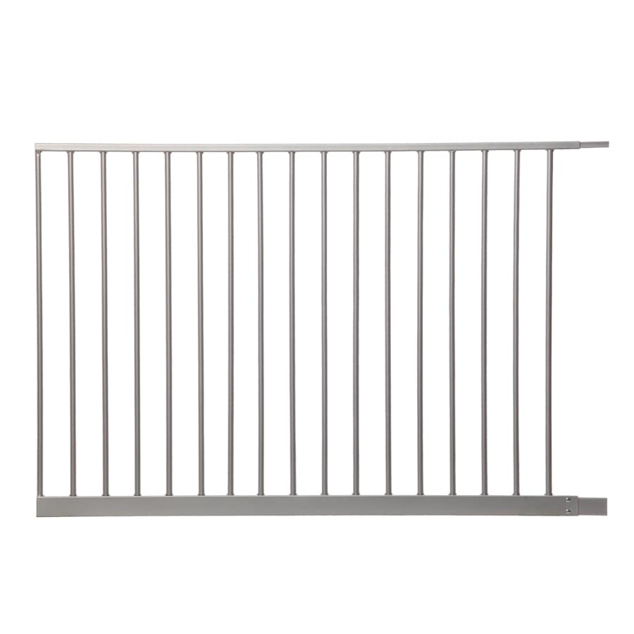Dreambaby Empire Magnetic EZY-Check Auto-Close with Stay-Open Feature 41-in x 29.5-in Silver Metal Child Safety Gate