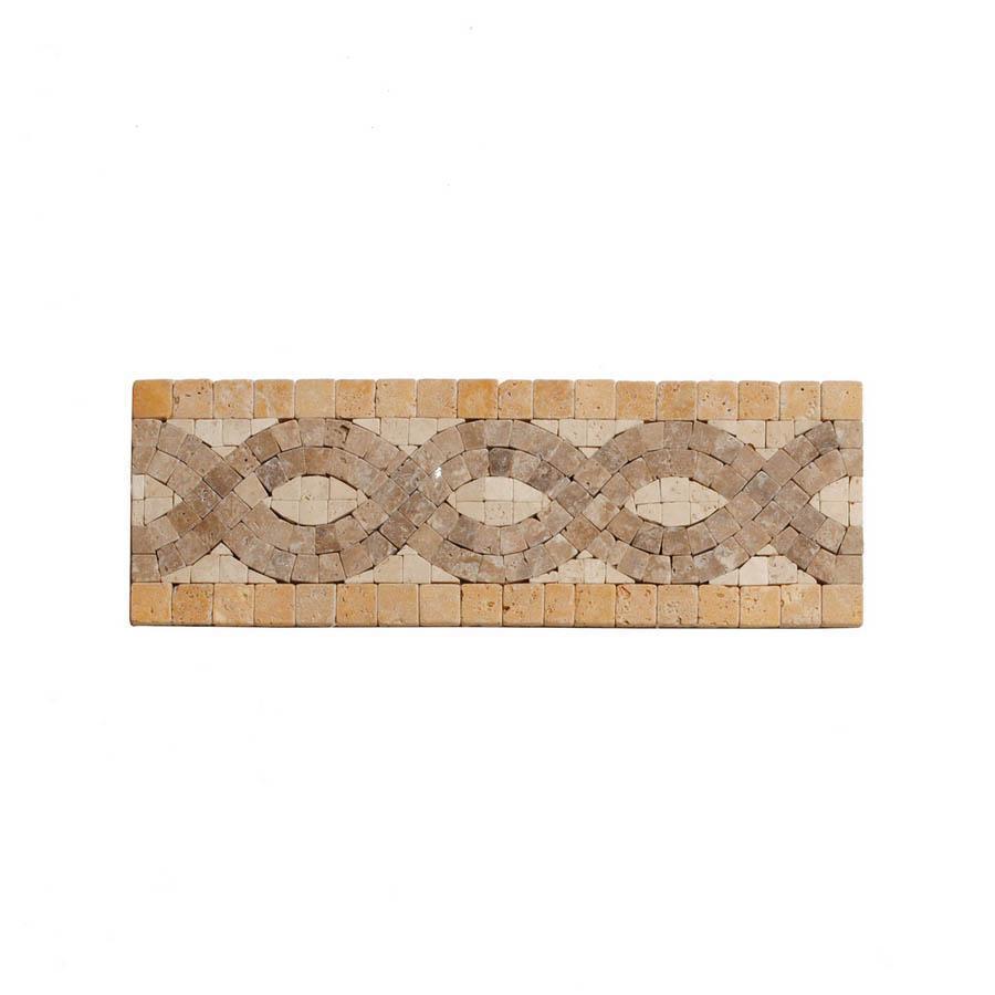 Big Pacific 3-7/8-in x 10-in Ivory Travertine Floor Tile
