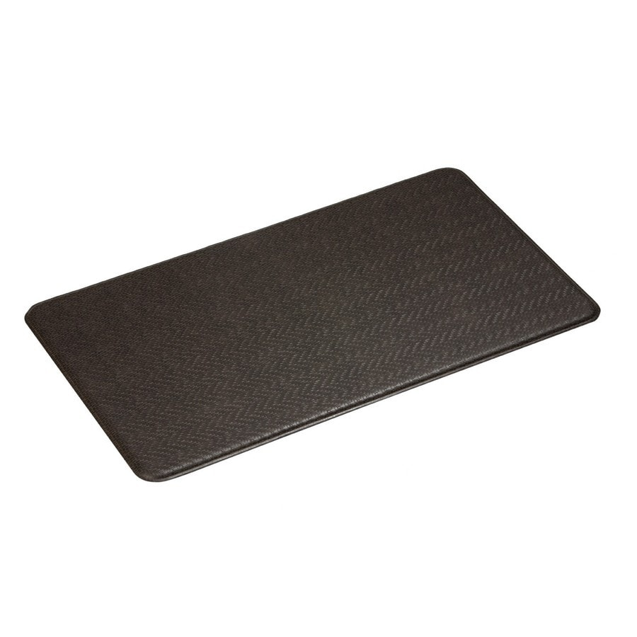 Imprint Espresso Anti-Fatigue Mat (Common: 2-ft x 4-ft; Actual: 26-in x 48-in)