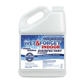 Wet and Forget Indoor Mold and Mildew Disinfectant Cleaner 1 Gallon
