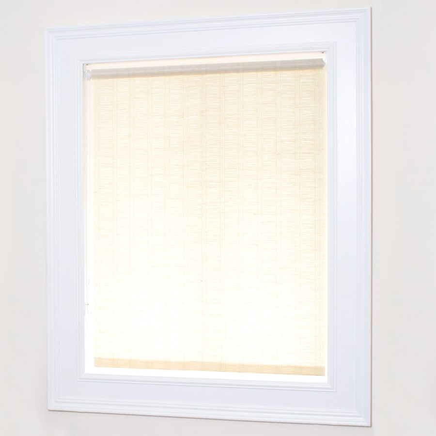Chicology Florence Maize Light Filtering Paper Roller Shade (Common 39-in; Actual: 38.75-in x 72-in)