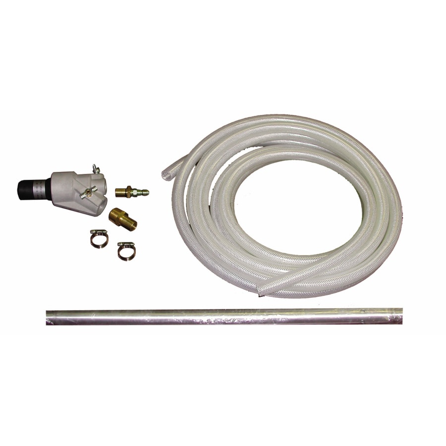 Pressure washer sandblasting kit