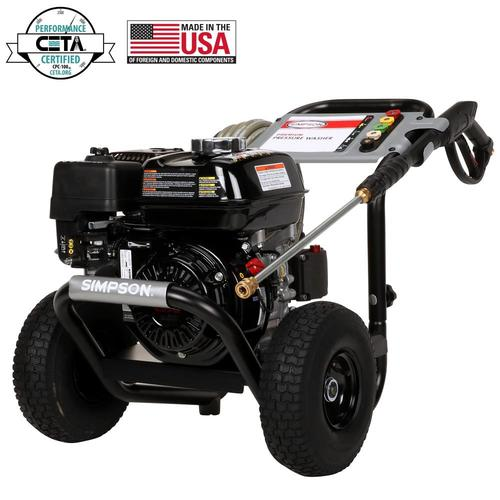 SIMPSON PowerShot 3300-PSI 2.5-GPM Cold Water Gas Pressure Washer with Honda Engine CARB