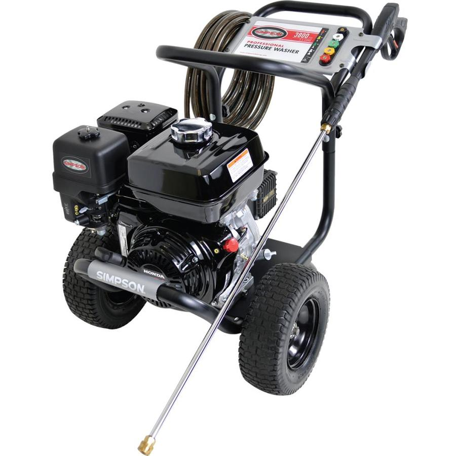 SIMPSON 3,800-PSI 3.5-GPM Water Gas Pressure Washer