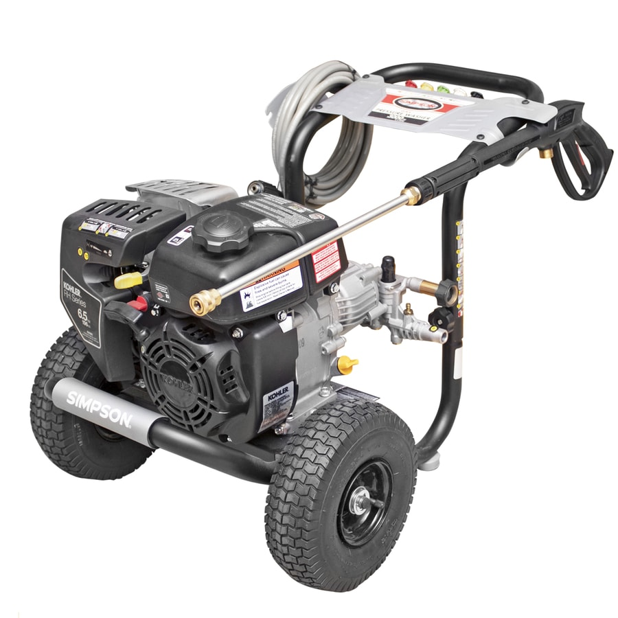 SIMPSON Megashot 3000-PSI 2.4-GPM Cold Water Gas Pressure Washer CARB