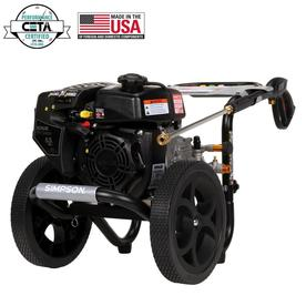Simpson Megashot 2.4GPM 3100 PSI Gas Power Kohler Engine High Pressure Washer