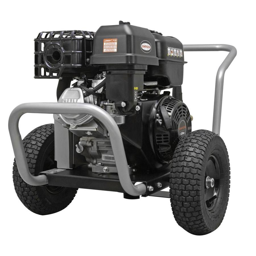 SIMPSON WaterBlaster 4,200-PSI 4-GPM Cold Water Gas Pressure Washer (CARB)