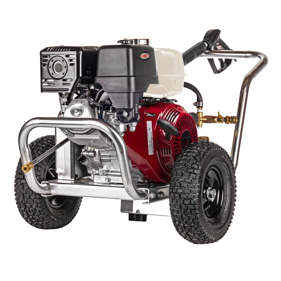 SIMPSON Aluminum WaterBlaster 4,200-PSI 4-GPM Cold Water Gas Pressure Washer (CARB)