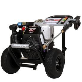 Simpson Megashot 3200 Psi 2 5 Gpm Cold Water Gas Pressure Washer