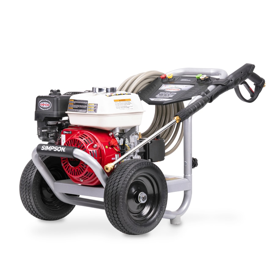 SIMPSON PowerShot 3700-PSI 2 5-GPM Cold Water Gas Pressure Washer