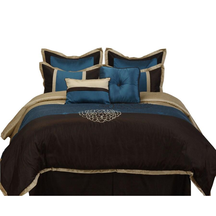 Stratford Park Phoebe 8-Piece Multicolor King Comforter Set