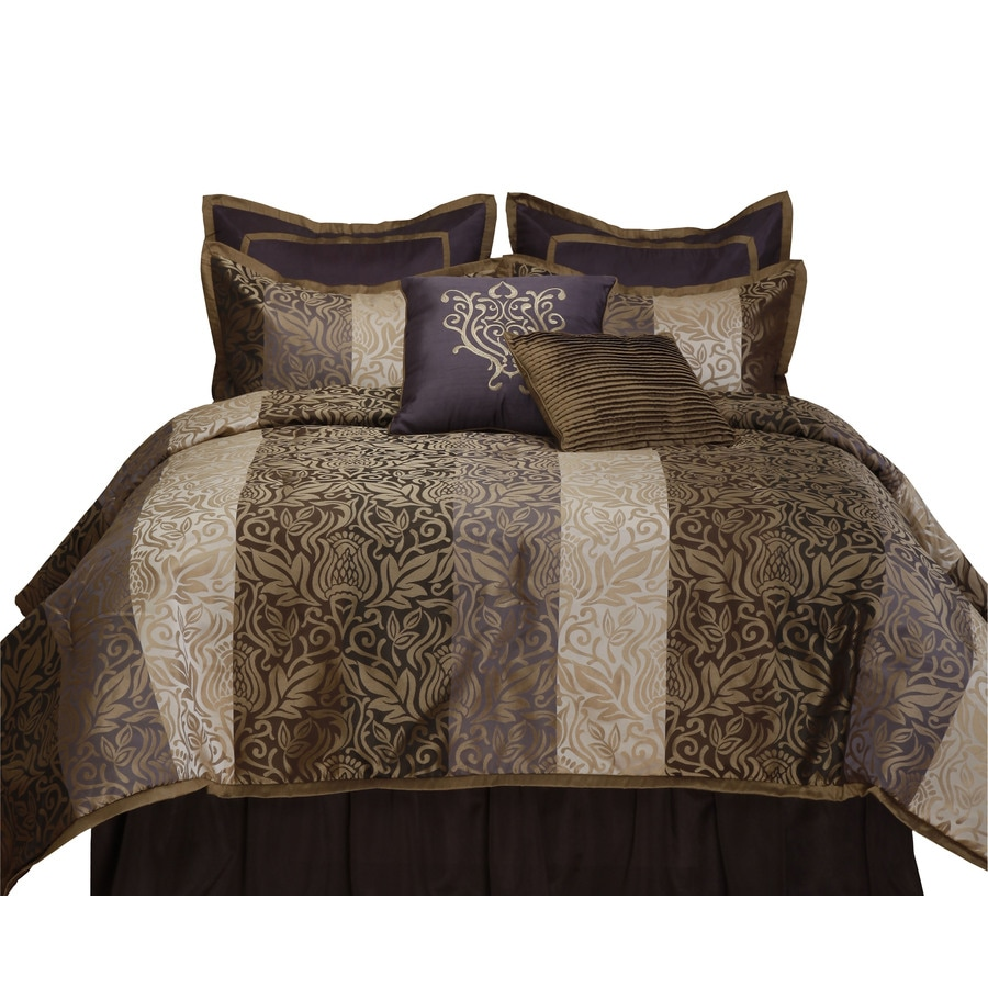 Stratford Park Laurence 8-Piece Multicolor Queen Comforter Set