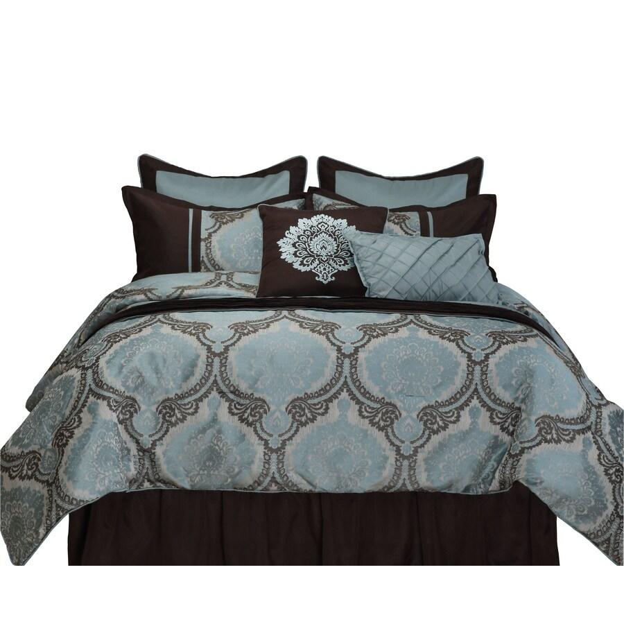 Stratford Park Sofia 8-Piece Multicolor Queen Comforter Set