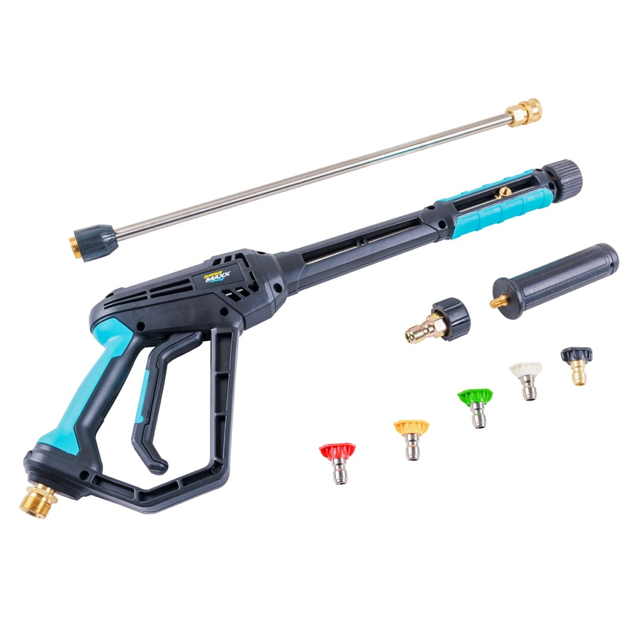 Pressure Washer Gun >> Surfacemaxx Pro 4200 Psi Pressure Washer Spray Gun Kit At Lowes Com