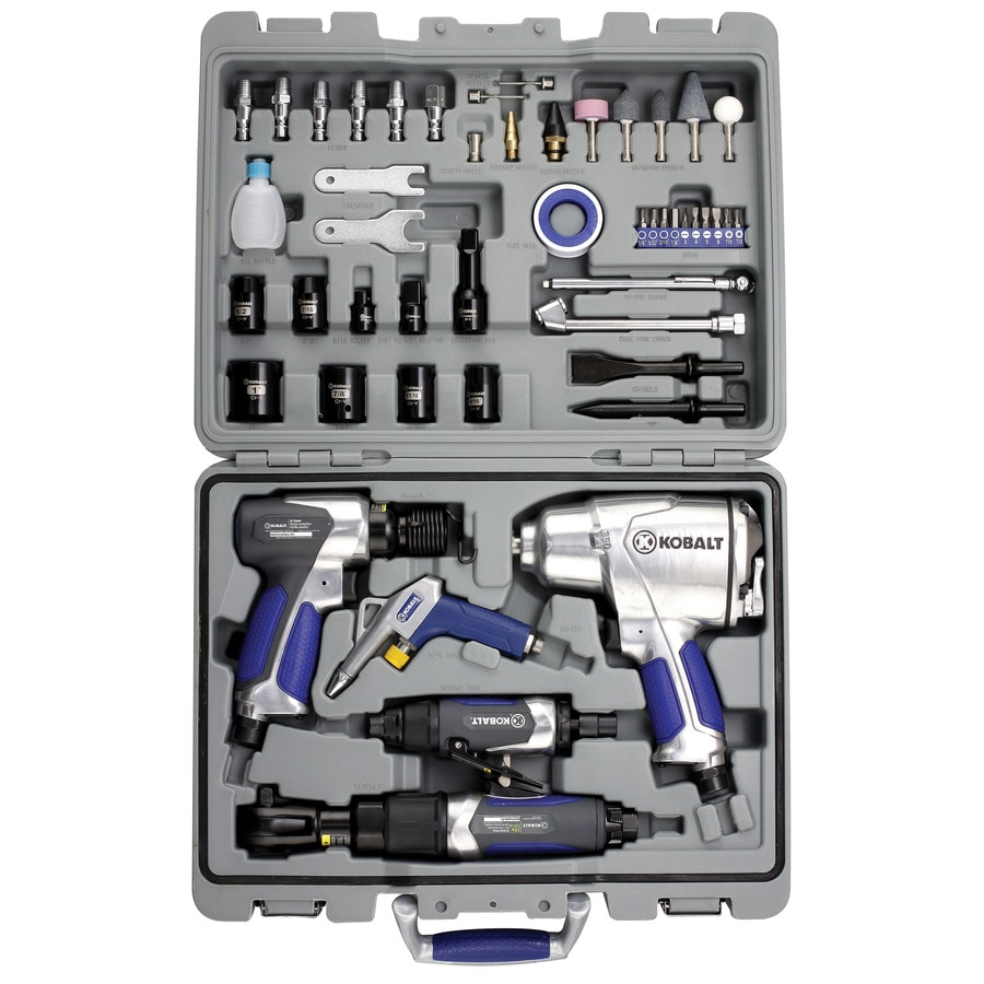Kobalt 50 Piece Air Tool Kit At Lowes Com