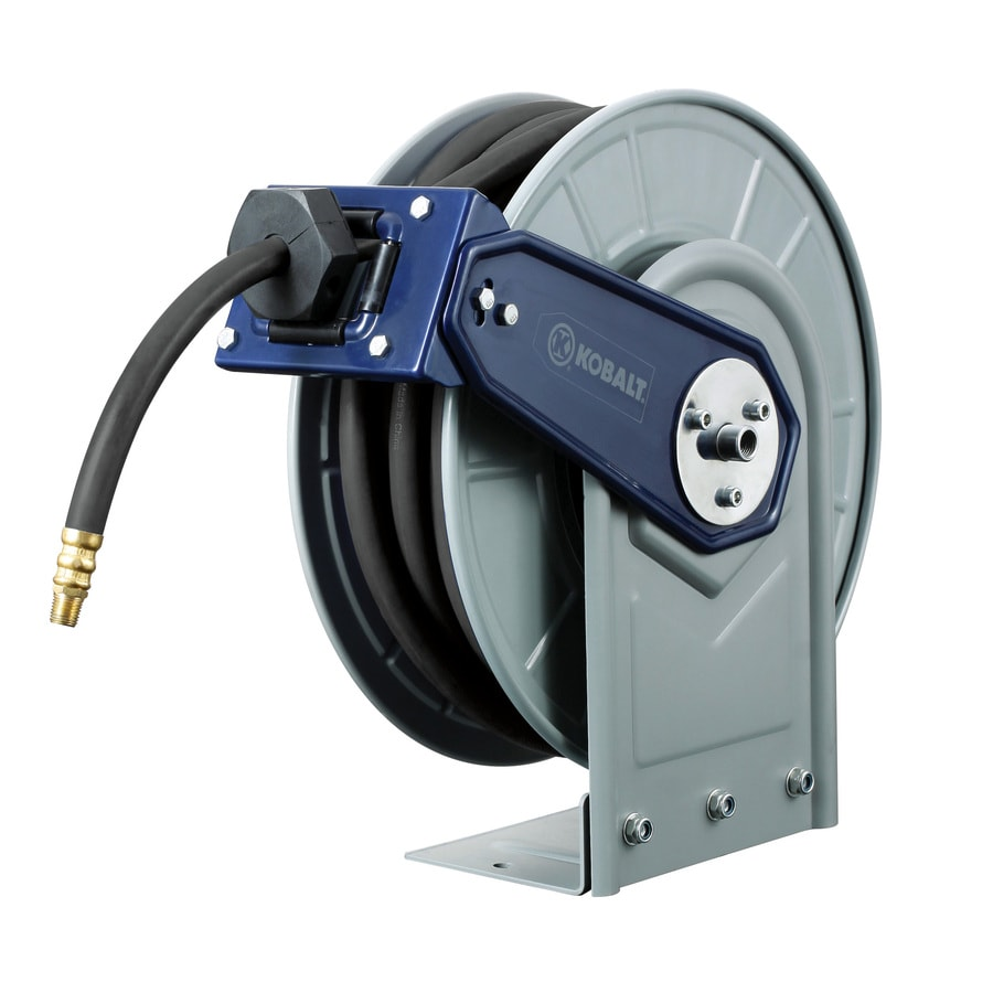 Kobalt Steel 50-ft Stationary Hose Reel