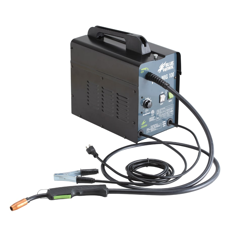 Shop Blue Hawk 120-Volt MIG Flux-Cored Wire Feed Welder at Lowes.com