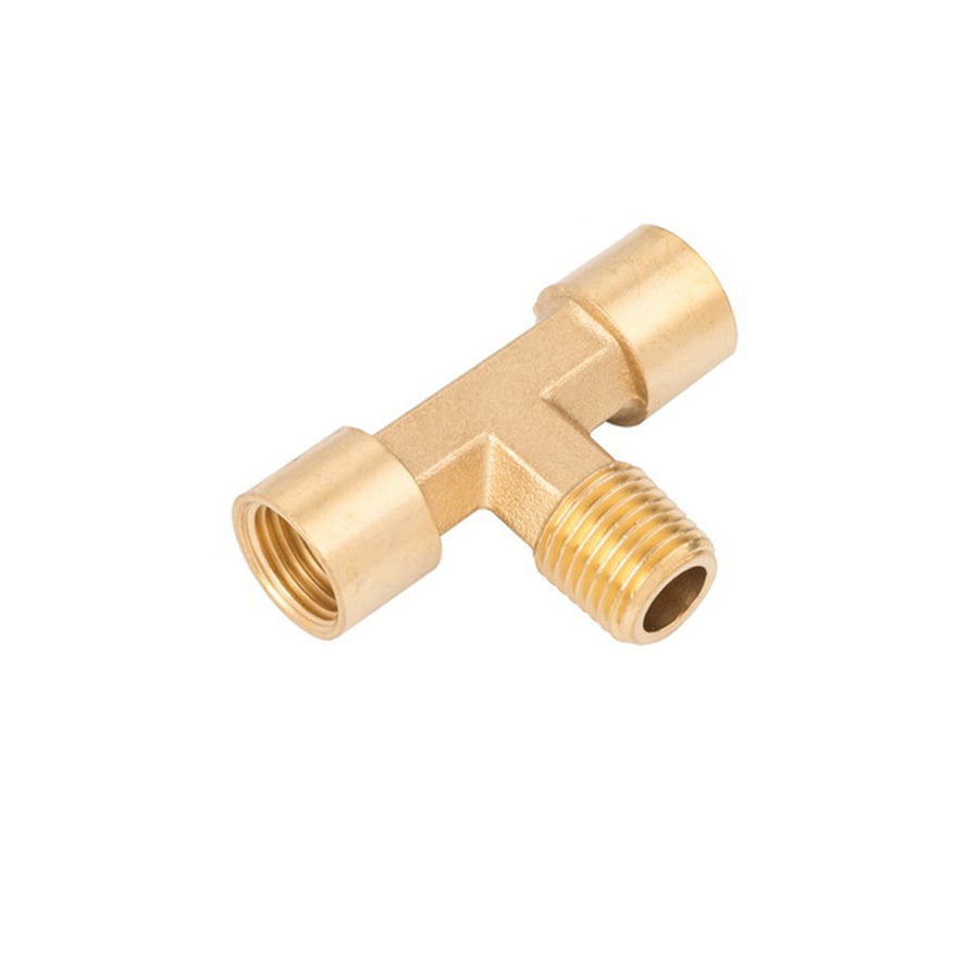 Kobalt NPT Brass T Fitting (F) 1/4-in