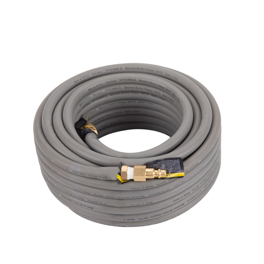 Kobalt 1/4-in 50-ft Rubber Air Hose