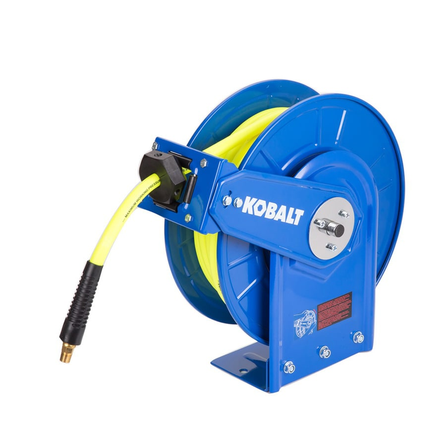 Kobalt Hose Reel with Hybrid Hose