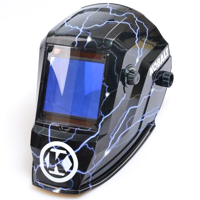 Kobalt Auto Darkening Welding Helmet Mask Throat Guard Welder Lens Tool Tools