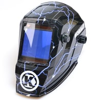 Deals on Kobalt Auto Darkening Variable Shade Hydrographic Welding Helmet