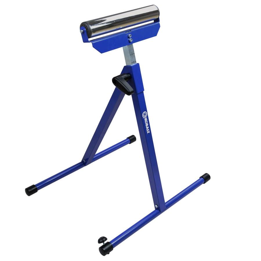 Shop Kobalt Steel Adjustable Rolling Table Saw Stand At