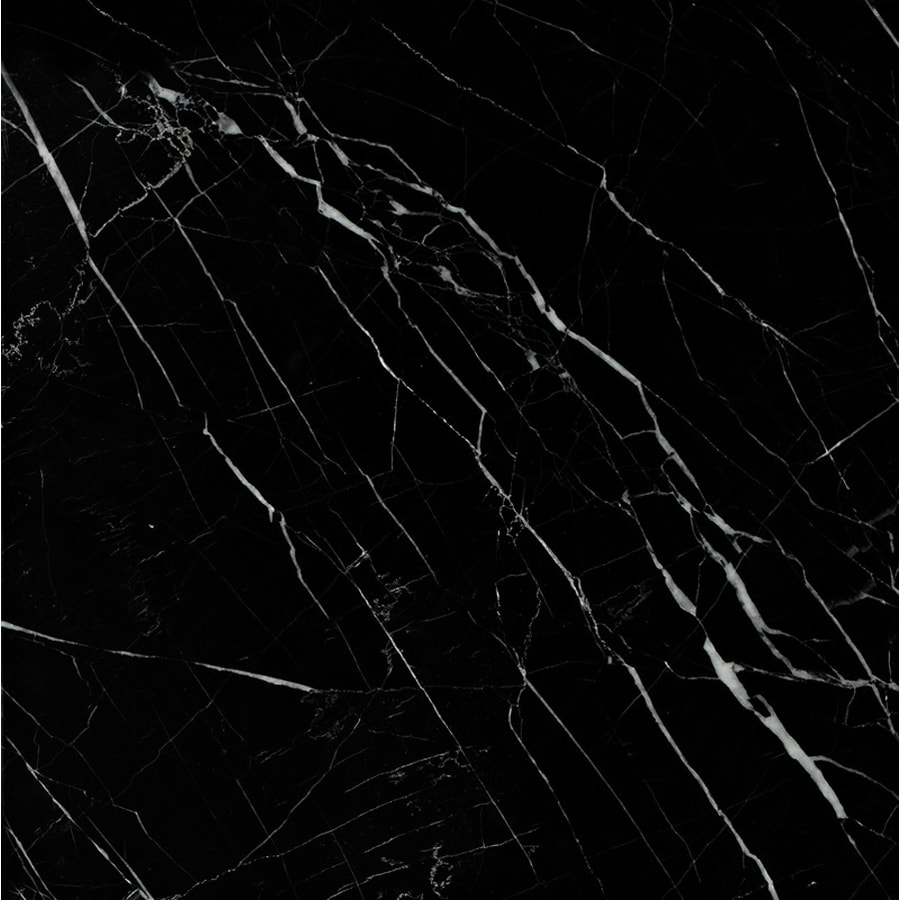Black Marble Tile : Shop marble systems pack nbs black natural stone wall