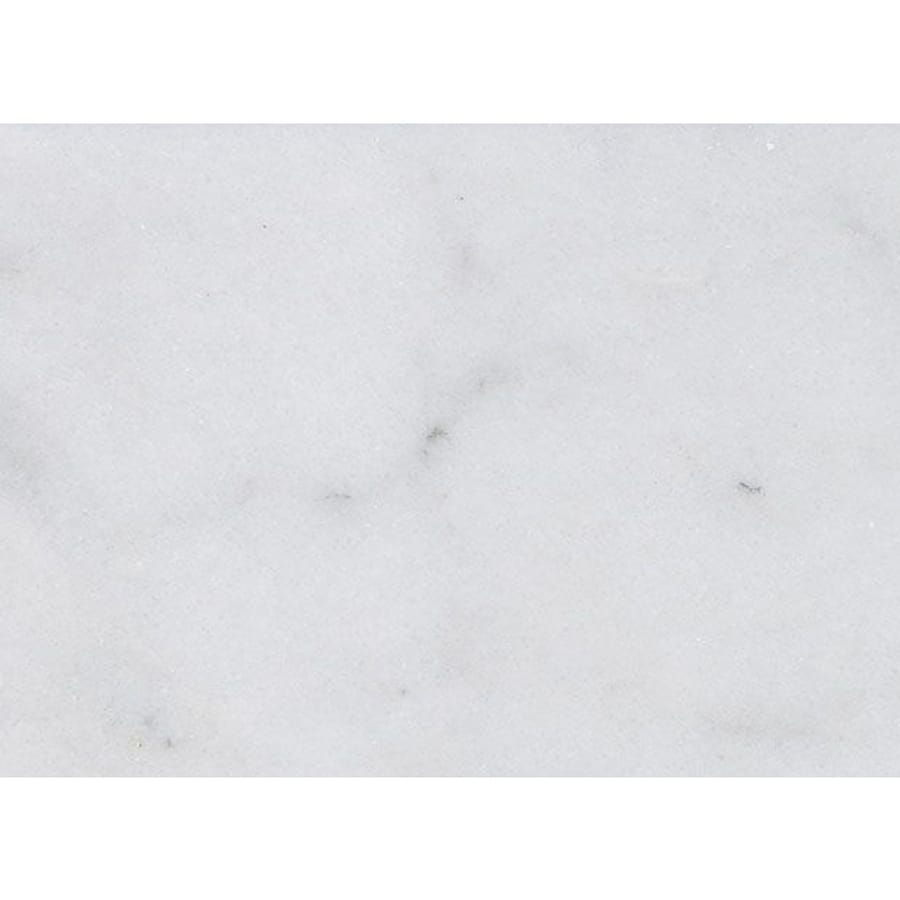 Bermar Natural Stone Arctic White Honed Marble Floor and Wall Tile (Common: 3-in x 6-in; Actual: 2.75-in x 5.5-in)