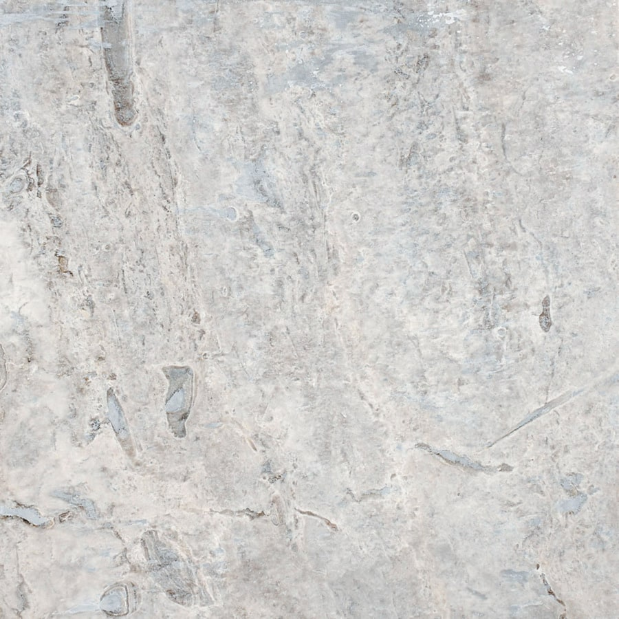 Travertine Marble Tile : Shop bermar natural stone silverado honed and amp filled