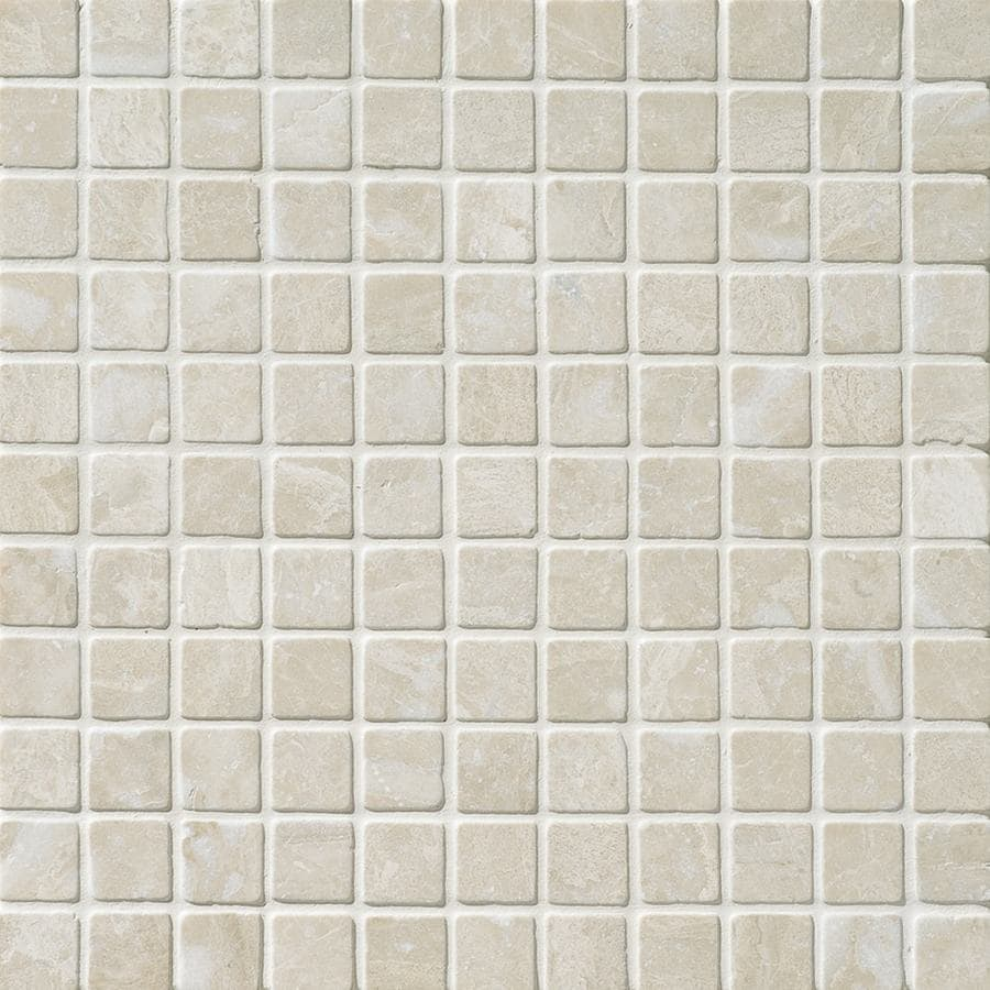 Shop Bermar Natural Stone Royal Beige Tumbled Marble Floor And Wall