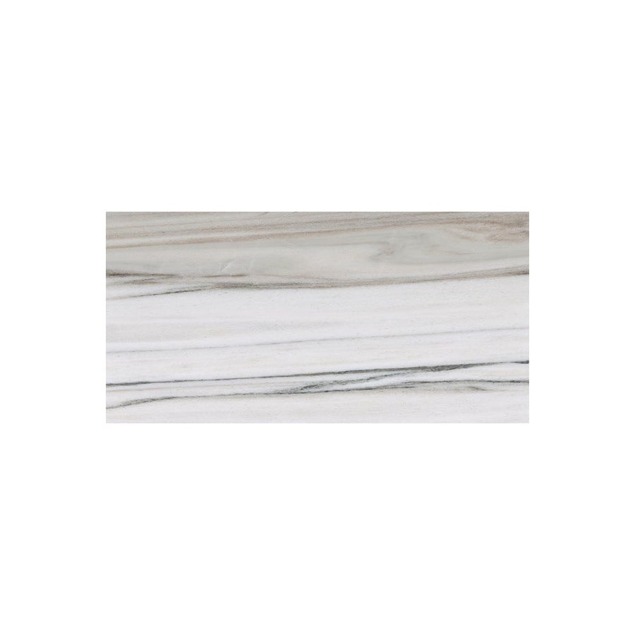 Bermar Natural Stone Horizon Polished Marble Floor and Wall Tile (Common: 12-in x 24-in; Actual: 12-in x 24-in)