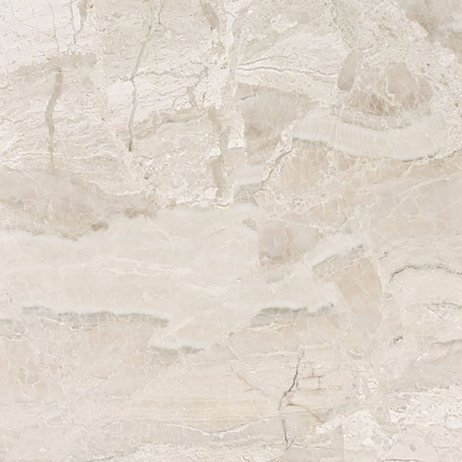 Bermar Natural Stone Royal Beige Honed Marble Floor and Wall Tile (Common: 18-in x 18-in; Actual: 18-in x 18-in)