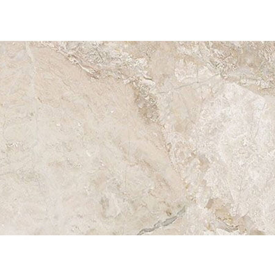 Bermar Natural Stone Royal Beige Honed Marble Floor and Wall Tile (Common: 3-in x 6-in; Actual: 2.75-in x 5.5-in)