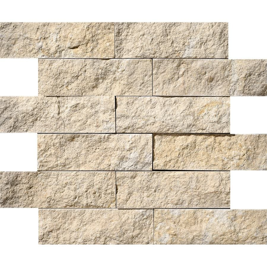 Natural Limestone Walls : Shop bermar natural stone shellstone rock face limestone