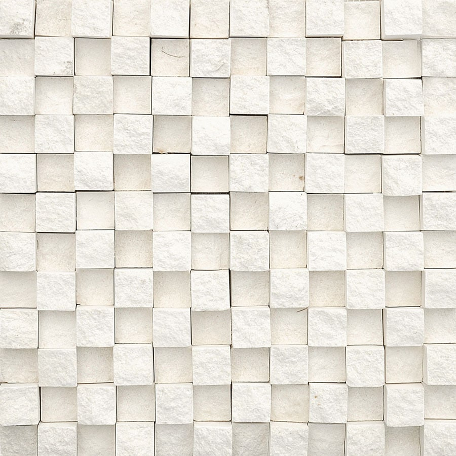 Bermar Natural Stone Cottonwood Rock Face Limestone Floor and Wall Tile (Common: 12-in x 12-in; Actual: 12-in x 12-in)