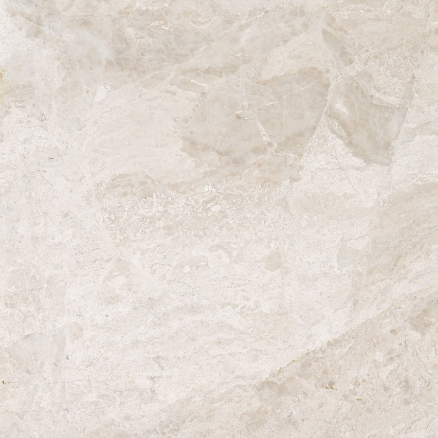 Shop bermar natural stone royal beige polished marble floor and wall tile common 18 in x 18 in Ceramic stone tile
