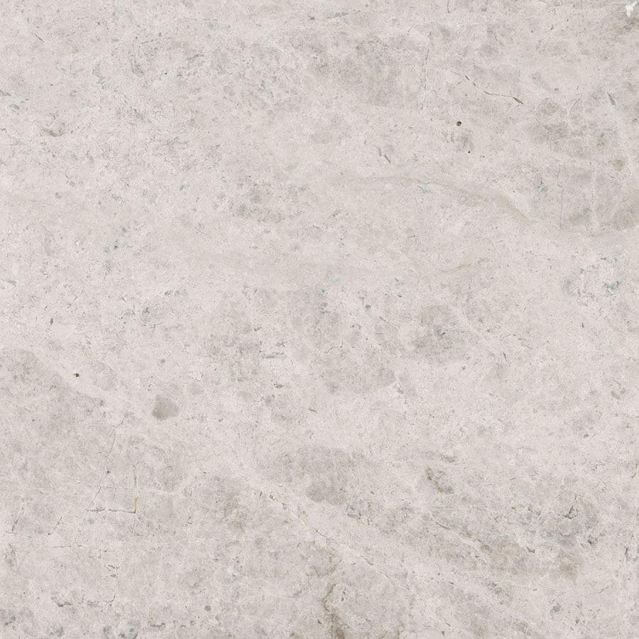 Bermar Natural Stone Silver Sky Polished Marble Floor and Wall Tile (Common: 18-in x 18-in; Actual: 18-in x 18-in)