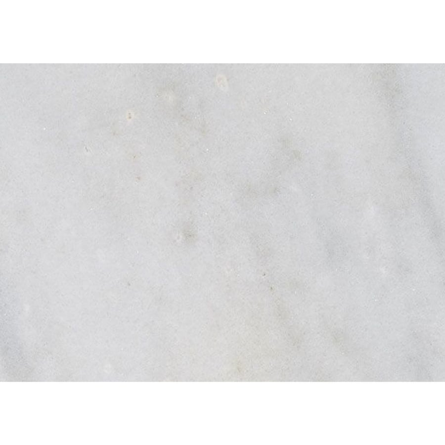 Bermar Natural Stone Arctic White Polished Marble Floor and Wall Tile (Common: 3-in x 6-in; Actual: 2.75-in x 5.5-in)