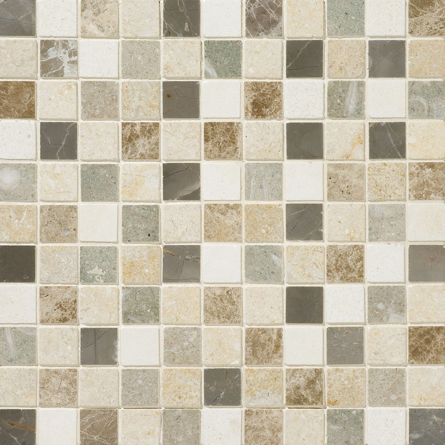 Bermar Natural Stone Marah Honed Limestone Floor and Wall Tile (Common: 12-in x 12-in; Actual: 12-in x 12-in)